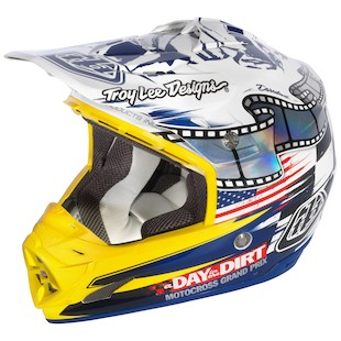 Troy Lee SE3 DITD / McQueen Helmet
