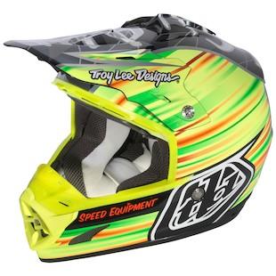 Troy Lee SE3 McGrath / Monster Helmet