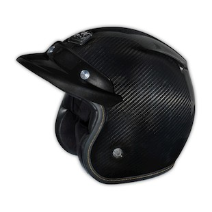 Troy Lee Open Face Carbon Fiber Helmet