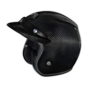 Troy Lee Open Face Carbon Fiber Helmet