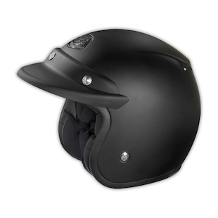 Troy Lee Open Face Helmet - Solid