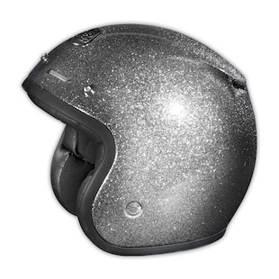 Troy Lee Open Face Helmet - Metal Flake
