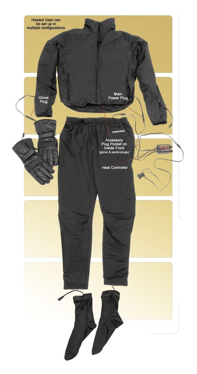 Firstgear Heated Pant Liner Revzilla Gerbing Wiring Diagram