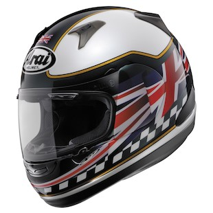 Arai RX-Q UK Flag Helmet 2013