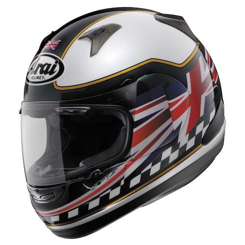 Arai Union Jack Motorcycle Helmet