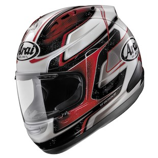 Arai Corsair V Dani 3 Red Helmet