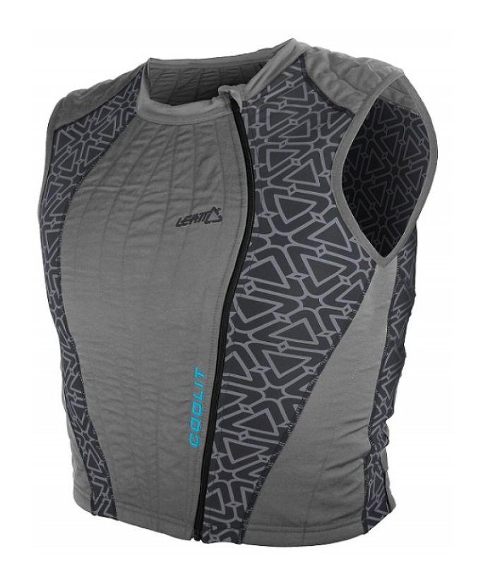Evaporative Cooling Clothing : Leatt coolit evaporative cooling vest revzilla