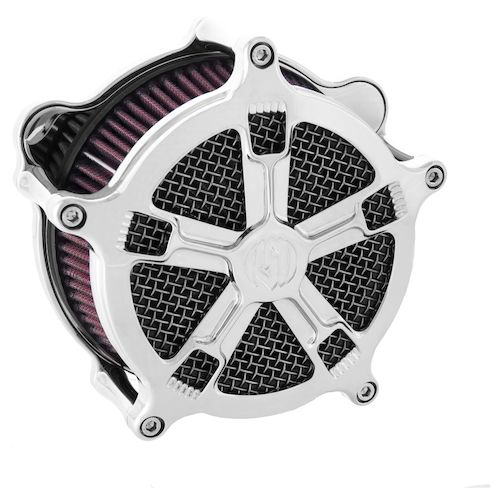 Turbo Your Harley: Roland Sands Venturi Turbo Air Cleaner For Harley 2008