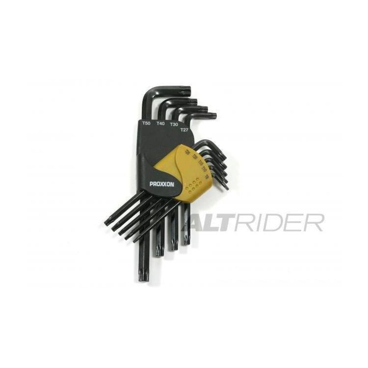 Proxxon 9 Piece TORX Wrench Kit