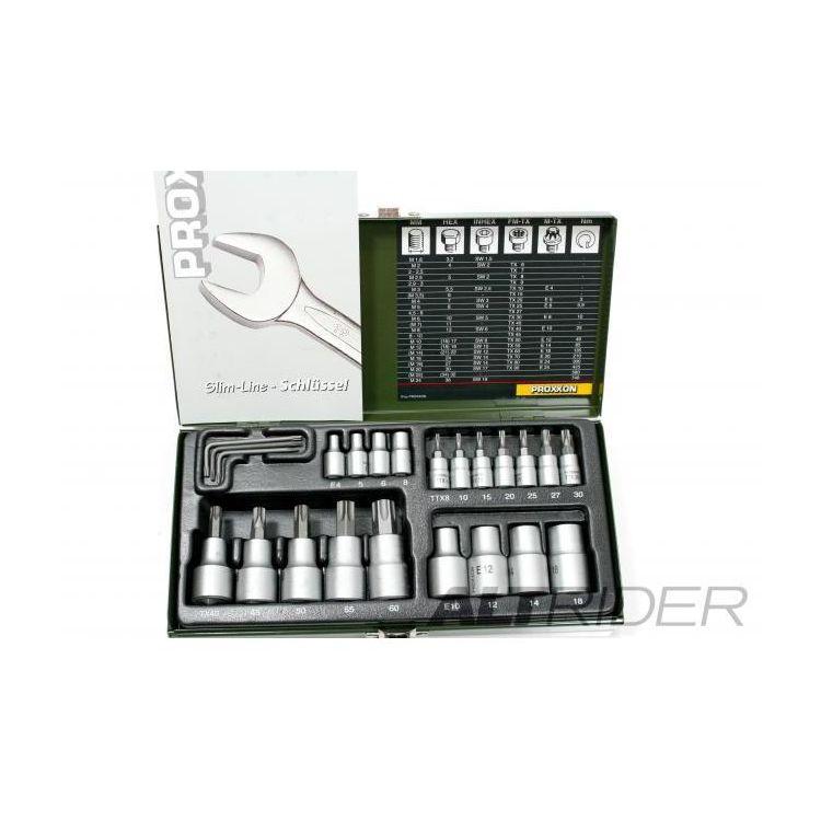 Proxxon 23 Piece TORX Socket Set