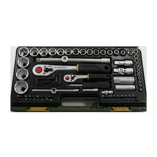 "Proxxon 65 Piece 1/4"" And 1/2"" Drive Socket Set"