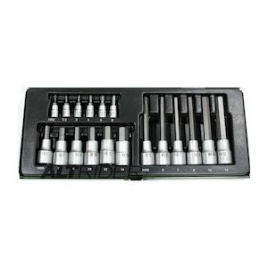 Proxxon 18 Piece Allen Key Socket Set