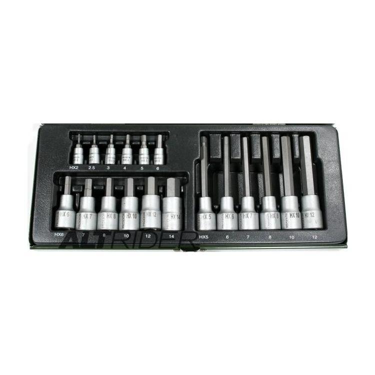 Proxxon 18 Piece Allen Key Socket Set
