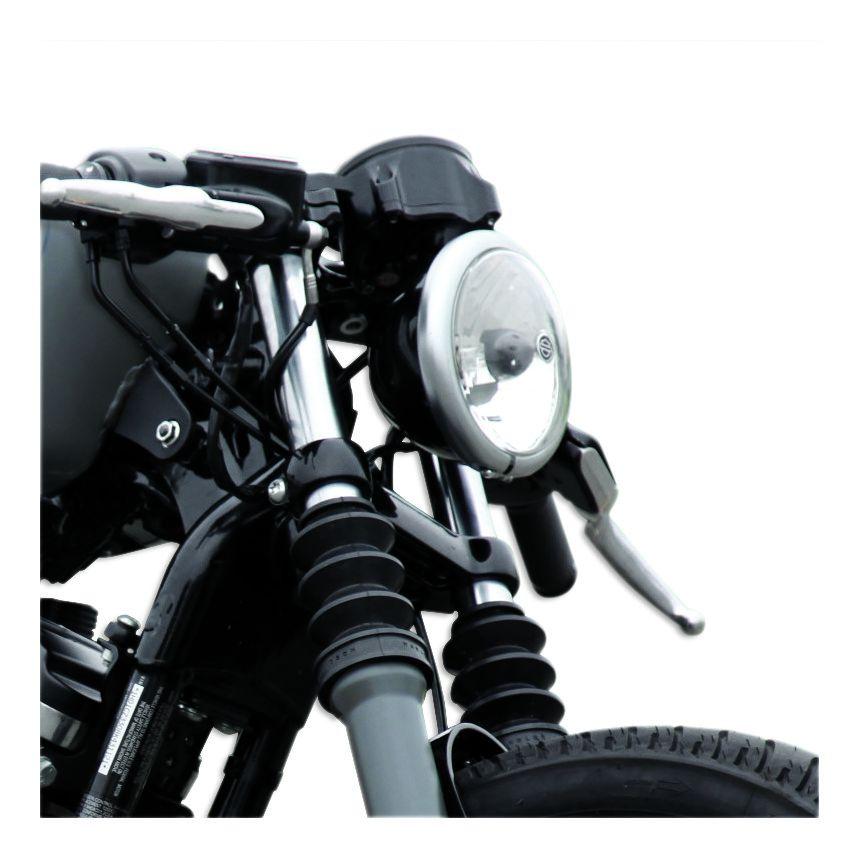Roland Sands Cafe Gauge / Headlight Relocation Kit For Harley Sportster  1995-2020