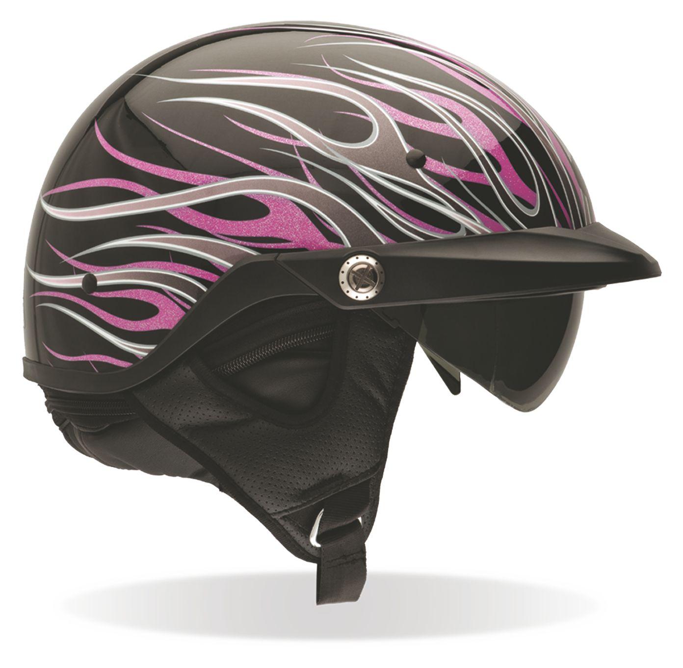 Bell Women's Pit Boss Pink Flames Helmet (Size 2XL Only ...