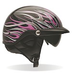 Bell Women's Pit Boss Pink Flames Helmet (Size XL-2XL Only)