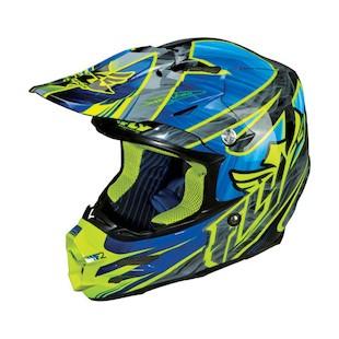 Fly Racing F2 Carbon Acetylene Hi-Vis Helmet