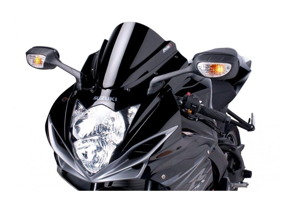 Puig Racing Windscreen Suzuki Gsxr 600 750 2017 2019 5 4 80 Off Revzilla