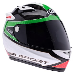 LaZer Osprey Carbon Light Hypersport Helmet (2XL Only)