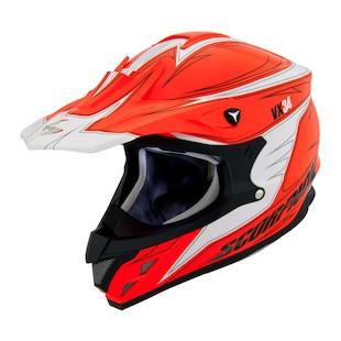 Scorpion VX-34 Spike Hi Viz Snow Helmet