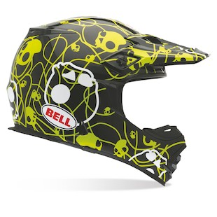 Bell MX-2 Skull Candy Ribbons Helmet