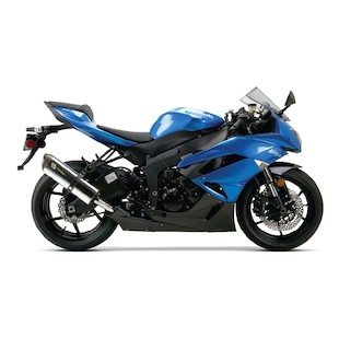 Two Brothers M-2 VALE V2 Slip-On Exhaust Kawasaki ZX-6R 2009-2012
