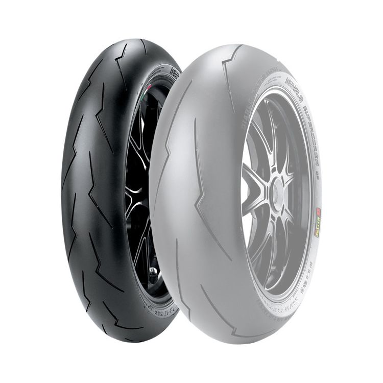 pirelli diablo supercorsa sp v2 front tire 31 off revzilla. Black Bedroom Furniture Sets. Home Design Ideas