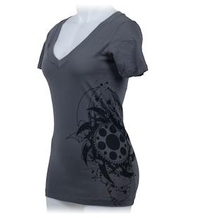 RevZilla Women's Staff Premium V-Neck T-Shirt