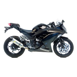 Leo Vince LV-One EVO II Slip-On Exhaust Kawasaki Ninja 300 2013