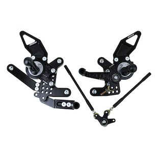 Driven Racing D-Axis Rearset Honda CB1000R 2008-2013