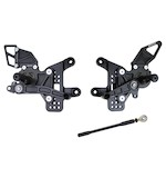 Driven Racing D-Axis Rearset Kawasaki ZX6R / ZX636 2005-2014
