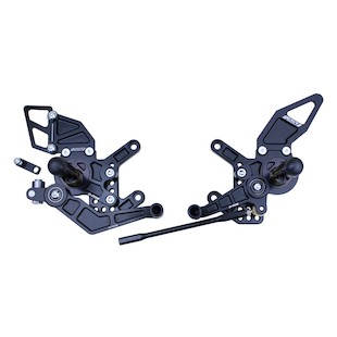 Driven Racing D-Axis Rearset Kawasaki ZX10R 2011-2013