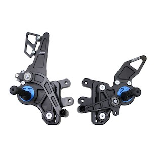 Driven Racing D-Axis Rearset GSX-R1000 07-08