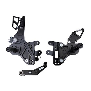 Driven Racing D-Axis Rearset GSX-R1000 09-12