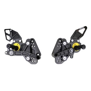 Driven Racing D-Axis Rearset Hayabusa 08-10
