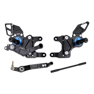 Driven Racing D-Axis Rearset Yamaha R1 09-12
