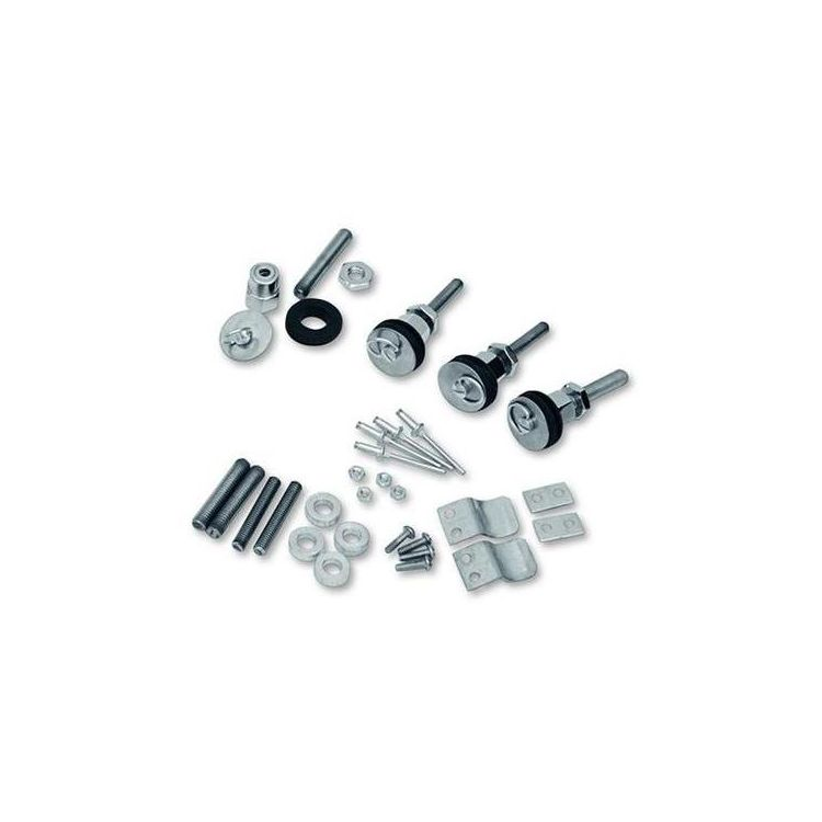 Saddlemen S4 Quick Disconnect Docking Post & Fastener Kit For Harley Dyna 1996-2017