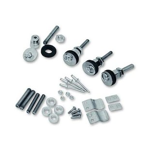 Saddlemen S4 Quick Disconnect Docking Post & Fastener Kit For Harley Dyna 1996-2014
