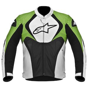 Alpinestars Jaws Perforated Leather Jacket - (Sz 48 Only)