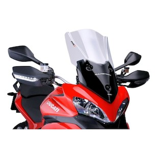 Ducati Multistrada  Puig Touring Windscreen Light Smoke