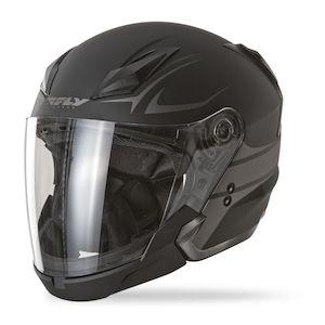 1f51a09db99 Fly Racing Street Tourist Helmet - Solids - RevZilla