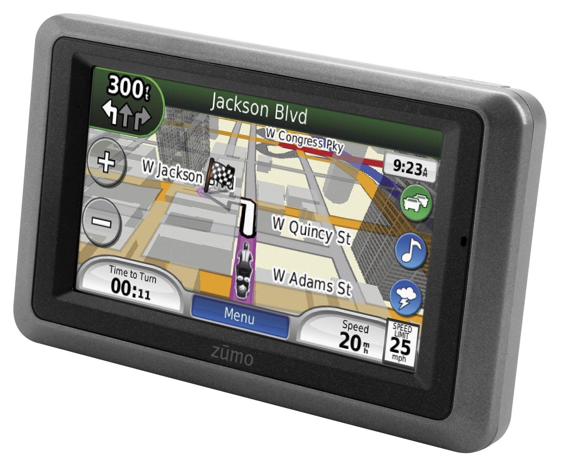 Garmin Zumo 660LM Widescreen Motorcycle GPS - RevZilla