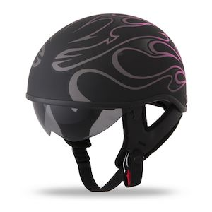 Fly Racing Street .357 Flame Women's Helmet