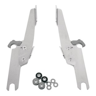 Memphis Shades Fats / Slim / Batwing Trigger-Lock Mount Kit For Harley Road King 1994-2016