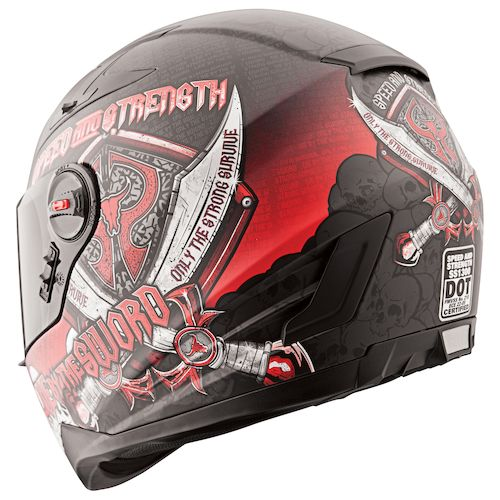 Helmet Sword Sword Helmet Black/red