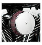 Arlen Ness Stage 1 Big Sucker Stainless Jacketed Filter Air Cleaner Kit For Harley CVO