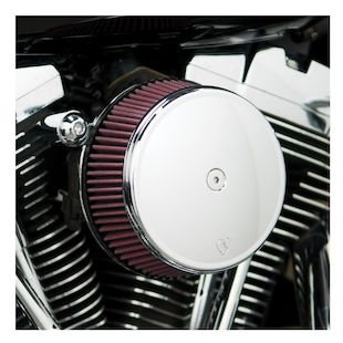 Arlen Ness Smooth Stage 1 Big Sucker Air Cleaner Kit For Harley Twin Cam 1999-2017