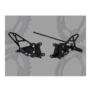 Vortex Adjustable Rearsets Yamaha R1 2007-2008