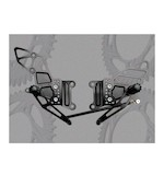 Vortex Adjustable Rearsets Kawasaki ZX6R 2005-2008 /ZX6RR 2005-2006