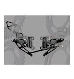 Vortex Adjustable Rearsets Kawasaki ZX6R 2005-2008 /ZX6RR 2005-2006